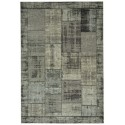 Pablo patchwork carpet - coal