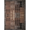 Pablo patchwork carpet - taupe