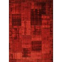 Pablo patchwork carpet red