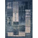 Patchwork carpet Pablo - Delft/blue