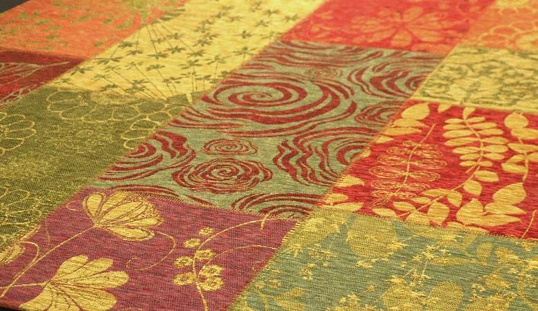 Schöne billige Patchwork Teppiche